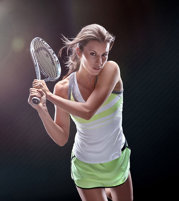 Цветана Пиронкова - спортна фотография